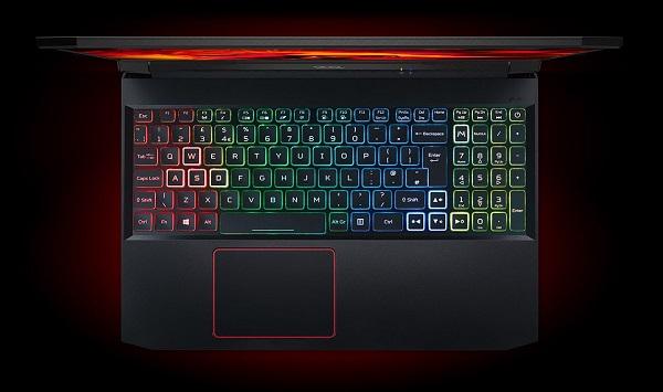 Bàn phím chuyên dụng trên Acer Nitro 5 2020 Core i5 Gen 10