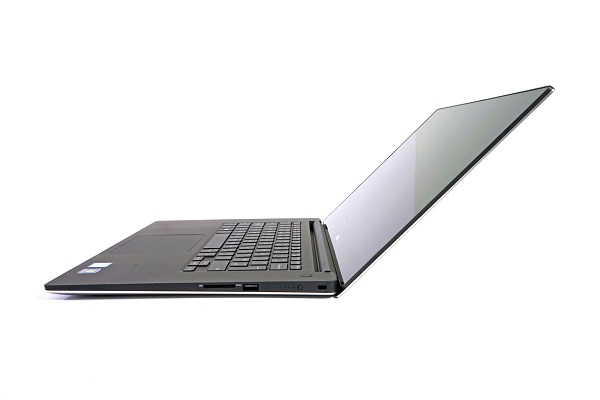 Dell M5510 E3-1505M có thiết kế tinh tế, mỏng dần về phía trước