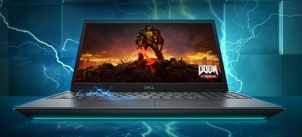 Thiết kế đường viền mạnh mẽ của Dell Gaming G5 15 5500 Core i7-10750H