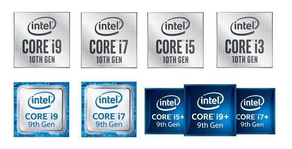 Các dòng Intel Core phổ biến trên thị trường