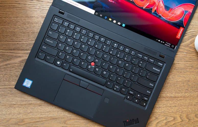 Hình ảnh về chiếc laptop Lenovo Thinkpad X1 Carbon